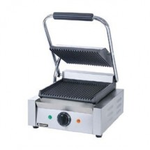 Adcraft SG-811 Grooved Single Sandwich Grill