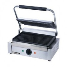 Adcraft SG-811EU Grooved Single Panini Grill