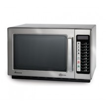 Amana RCS10TS 1000 Watt Programmable Commercial Microwave with Stainless Exterior and Interior