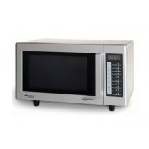 Amana RMS10T 1000 Watt Programmable Commercial Microwave with Stainless Exterior