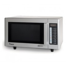 Amana RMS10TS 1000 Watt Programmable Commercial Microwave with Stainless Exterior and Interior