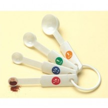 American Metalcraft MSP514 4 Piece Measuring Spoon