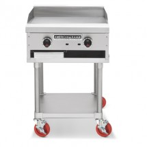 "American Range ACCG-24 Gas Griddle 24"" Wide Counter Unit"