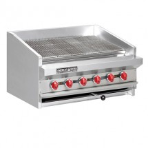 "American Range ADJ-48 48"" Adjustable Top Gas Radiant Broiler"