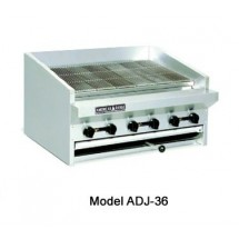 "American Range ADJ-60 60"" Adjustable Top Gas Radiant Broiler"