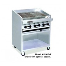 "American Range ADJF-36 36"" W  Adjustable Top Radiant Broilers Floor Model with Open Cabinet Base"