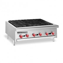 "American Range AERB-24 24"" W Counter Model Reversible Grate Charbroiler"