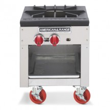 American Range ARSP-18 Gas Stock Pot Range with (1) 3 Ring Burner