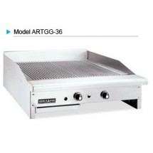 "American Range ARTGG-48 Thermostatic Controlled 48"" W Gas Grooved Griddle"