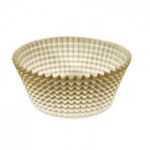 Ateco 6409 Gold Stripe Baking Cups