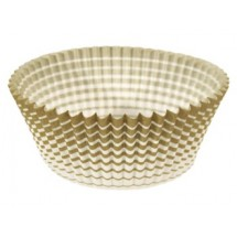 Ateco 6439 Gold Stripe Baking Cups