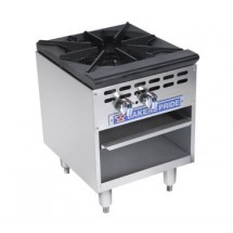 Bakers Pride BPSP-18-2D Restaurant Series 180,000 BTU Stockpot Double Burner Gas Range