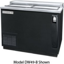 Beverage Air DW49-S-24 50&quot; x 26.5&quot; Flat Top Bottle Cooler