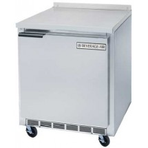 "Beverage Air WTR27A 27"" x 29"" Stainless Steel Top/Rear Splash Worktop Refrigerator"