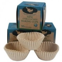 Beyond Gourmet 96 Unbleached Mini Baking-Cups