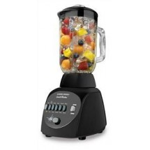 Black and Decker BL10450HB Crush Master 10-Speed Black Blender with Glass Jar