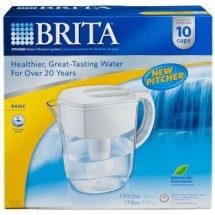 Brita 35509 Everyday Pitcher Water Filtration System,  10 Cup Capacity