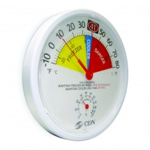 CDN RFL80 Large Refrigerator / Freezer Thermometer and Hygrometer