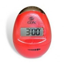 CDN TM12-R Egg-Shaped Timer Pearl Red