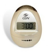 CDN TM12-W Egg-Shaped Timer Pearl White