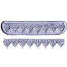CK Products 44-1508 Border Silicon Gumpaste Mold