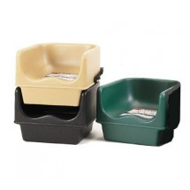 "Cambro 100BC1519 Green No-strap 11 5/8"" Single Height Booster Seat"