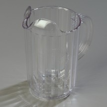 Carlisle 553607 Clear 32 Oz. Pitcher (Case of 6)