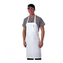 Chef Revival 600BAW-D Deluxe White Bib Apron