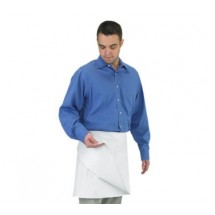 Chef Revival 603FW White 4-Way Apron