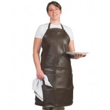 Chef Revival 604VBA37-BR Long Vinyl Bib Apron