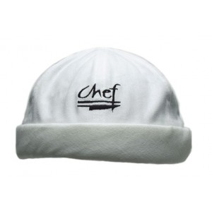 Chef Revival H059WH White Chef Beanie