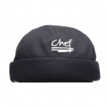 Chef Revival H060BK Black Chef Beanie