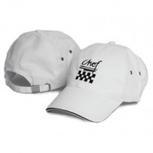 Chef Revival H063WH White Baseball Hat