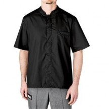 Chefwear 1381-30 Black Snap Shirt