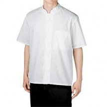 Chefwear 1381-40 White Snap Shirt