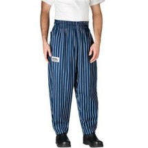 Chefwear 3000-01 Navy Chalkstripe Baggy Chef Pants