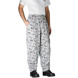 Chefwear 3000-06 Utensil Baggy Chef Pants