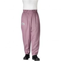 Chefwear 3000-09 Black/Pink Houndstooth Baggy Chef Pants