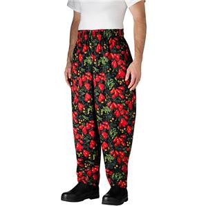 Chefwear 3000-19 Hot Tomatoes Baggy Chef Pants