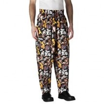 Chefwear 3000-206 Pomegranate Baggy Chef Pants