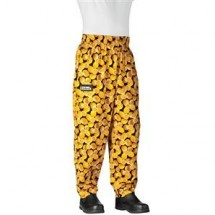 Chefwear 3000-21 Lemon Baggy Chef Pants