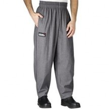 Chefwear 3000-32 Charcoal Baggy Chef Pants
