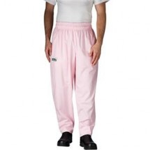 Chefwear 3000-44 Pink Houndstooth Baggy Chef Pants