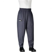 Chefwear 3000-59 Grey Houndstooth Baggy Chef Pants