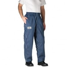 Chefwear 3100-01 Navy Chalkstripe Traditional Chef Pants