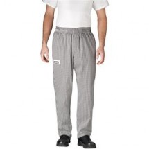 Chefwear 3100-10 Black/White Houndstooth Traditional Chef Pants