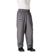 Chefwear 3100-32 Charcoal Traditional Chef Pants