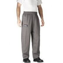 Chefwear 3100-64 Black Herringbone Traditional Chef Pants