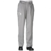 Chefwear 3150-10 Black/White Houndstooth Women's Low Rise Chef Pants