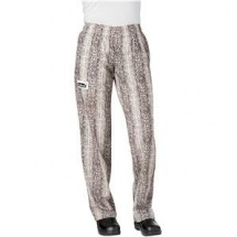 Chefwear 3150-202 Snakeskin Women's Low Rise Chef Pants